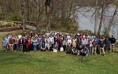 2012 Avian and Marine Tracking Conference attendees